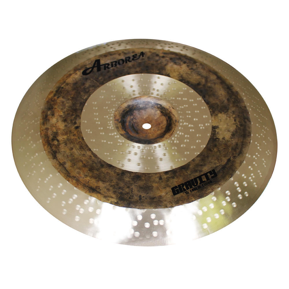 Arborea new cymbals!Gravity 16''China crash cymbal half hand made b8 cymbals drum cymbal