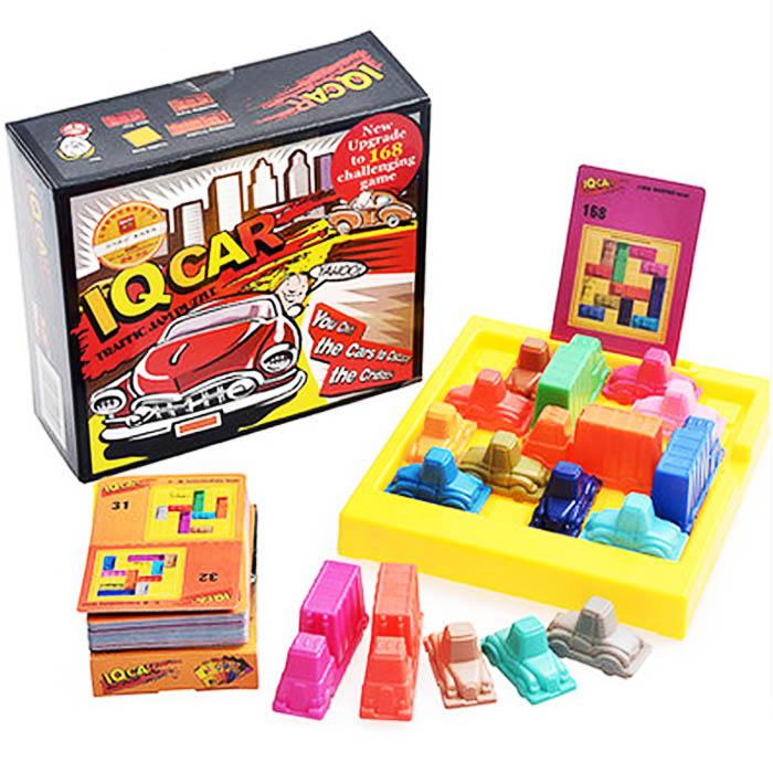 Noua logica IQ Puzzle Mind Brain Teaser Copii Joc educativ puzzle-uri pentru copii Adulti 168 Provocari