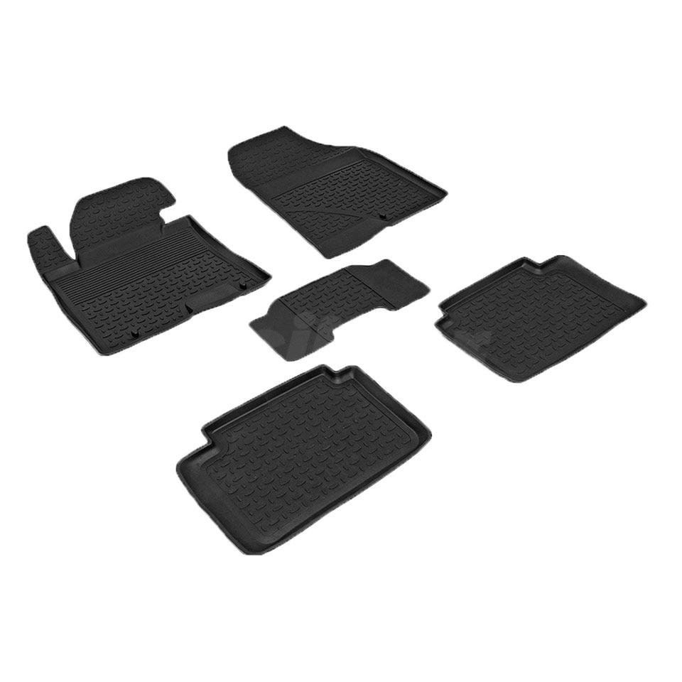 Rubber floor mats for Hyundai i30 NEW 2012 2013 2014 2015 2016 Seintex 83212 все цены