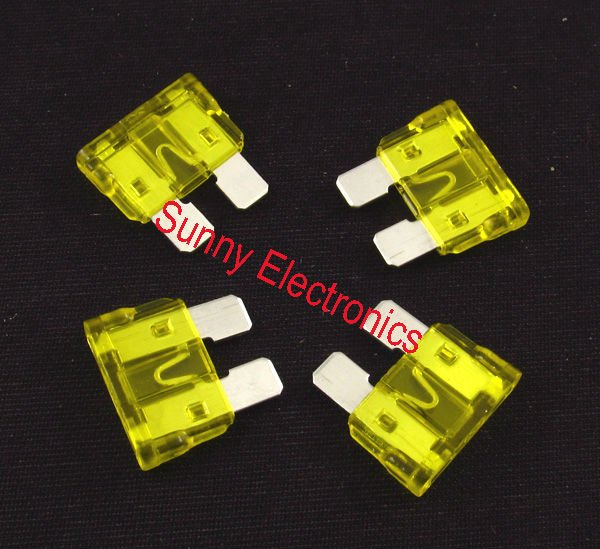 free shipping car fuse 20a 20 amp auto fuses in fuses from rh aliexpress com car amplifier fuse holder car amplifier fuse link