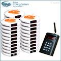 1 transmissor de 30 pagers 3 carregador China Novo Modelo Melhor Preço Convidado Sistema de Paginação Restaurante Pagers Coaster CE & ROHS