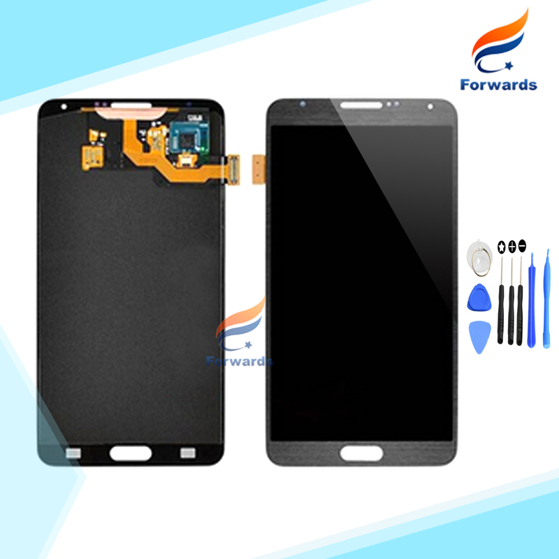 For Samsung Galaxy Note 3 N9005 N9006 N9000 N9002 N9008 N900 Lcd Screen Display with Touch Digitizer Tools 1 piece free shipping