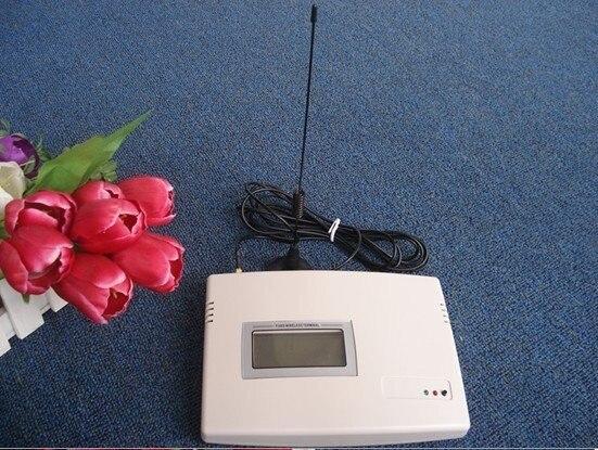 GSM 850/900/1800/1900 MHz GSM fixe terminal sans fil GSM avec chargeable avec LCD GSM fixe plate-forme sans fil