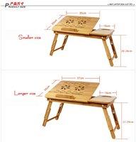 бесплатная доставка складной стол ноутбук пористого радиатора является бамбук ноутбук складной столик таблица ноутбук стол кровать заслонки больше, чем 14 дюймов