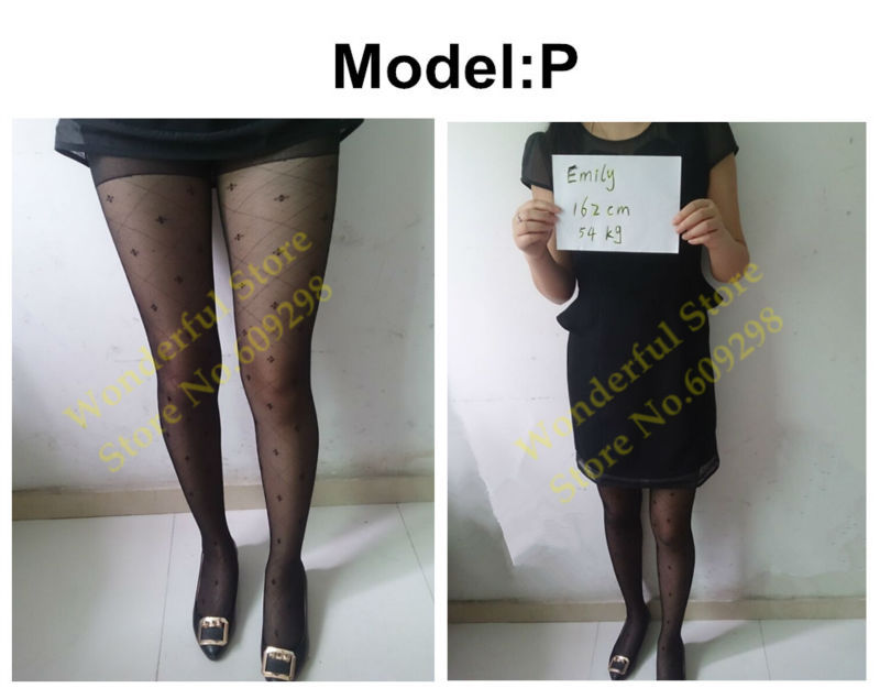 Sexy Pantyhose Tights Women Female Stockings Fashion Thin Sheer Long for Spring Fall Multi Pattern Free Shipping (14)