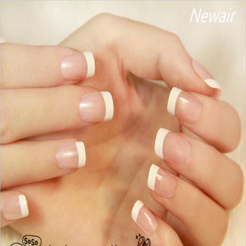 French False Nails Elegant Ol Abs Full Cover Fake Nail Clical
