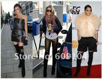 2011new женские Sasha туфли на блок ботинки Baden кости высокие сапоги / более-сапоги туфли