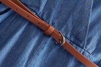 новый европейский стиль бренд с V-образным вырезом с коротким рукавом ковбойские брюки весна лето осень женщины леди комбинезон бесплатная доставка cl850