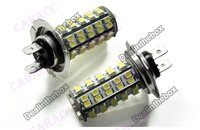 новый 2х автомобилей автомобиля 68 смд из светодиодов Лампа H7 противотуманные фары авто ламп накаливания 12 в 2843