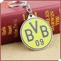 BVB 3D emblema do metal anel chave chaveiro futebol lembrança Borussia Dortmund futebol chaveiro