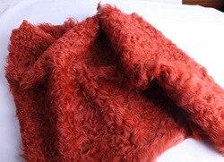 Tibetan Lamb Skin Fur Plate / Sheep Skin Curly Fur