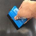 100pcs/Lot Soft Flexible Vinyl Application Tools 3M Felt Squeegee 3M Scraper Car Wrap Tools For Vehicle Wrapping & Sign Vinyl