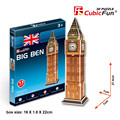 Cubicfun Big Ben Paperboard 3D Puzzle Model Educational Toys For Children Puzzle 3D Building Toy, Collectible Christmas Gifts