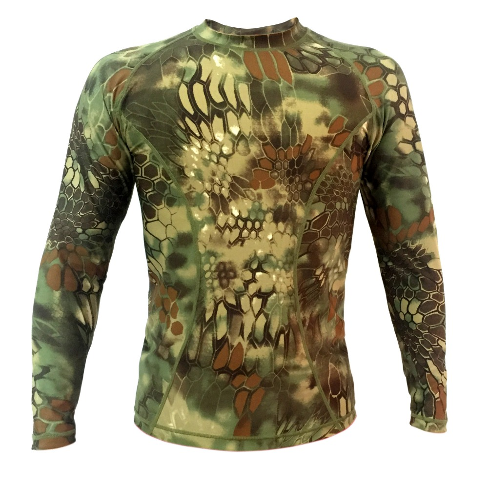 Mandrake Lightweight Long sleeve Tactical shirt tight compression Army shirt Summer T-shirt