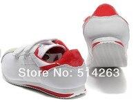 1207 мальчики девочки свободного покроя обувь дети спорт обувь сникер подходят 3-12лет дизайн обувь