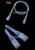 новый 3 фута 1 м кабель cat6 кошка 6 квартира UTP кабель сети локальных сетей патч кабеля локальной сети RJ45 кабель #22812