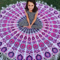 2016 New Indian Round Mandala Tapestry Wall Hanging Throw Towel Beach Cover Up beach towel Circle Beach Towel Serviette De Plage