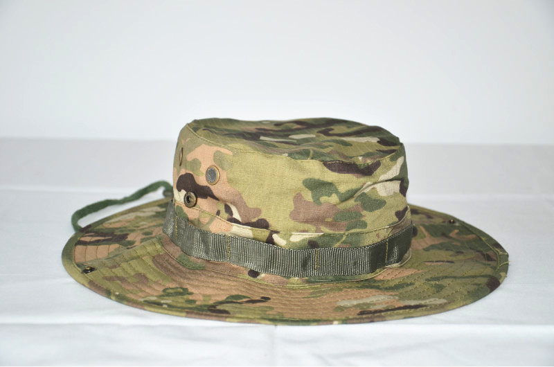 Online buy wholesale tactical multicam hat from china for Wide brim fishing hat