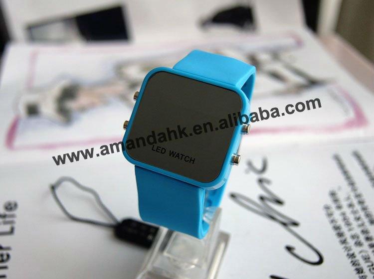 100 шт./лот пластиковые светодиодные силикон часы модные цифровой дисплей часы с подсветкой, дешевые часы для рекламы горячая распродажа Женские часы