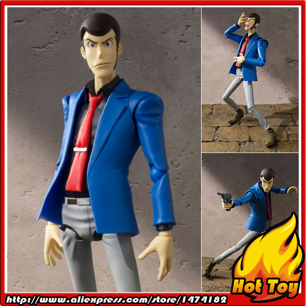 100% Original BANDAI Tamashii Nations S.H.Figuarts (SHF) Action Figure - Lupin The Third from Lupin the 3rd japan anime lupin the 3rd original bandai tamashii nations shf s h figuarts toy action figure fujiko mine