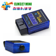 20 unids/lote DHL Envío Vgate Mini elm327 Bluetooth Mini OBD2 ELM327 Explorador Auto Funciona En Android Tourque Diagnostic Scanner