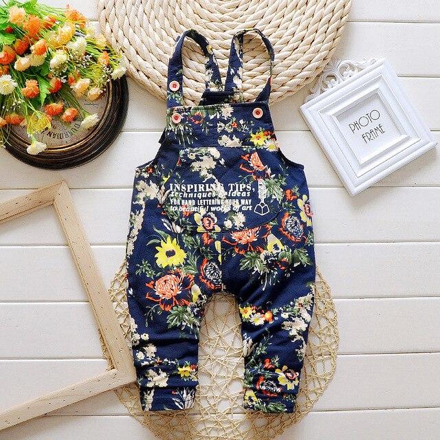 2017 Новая Коллекция Весна детские комбинезоны брюки 4 цвета младенца хлопка мальчик/девочка брюки