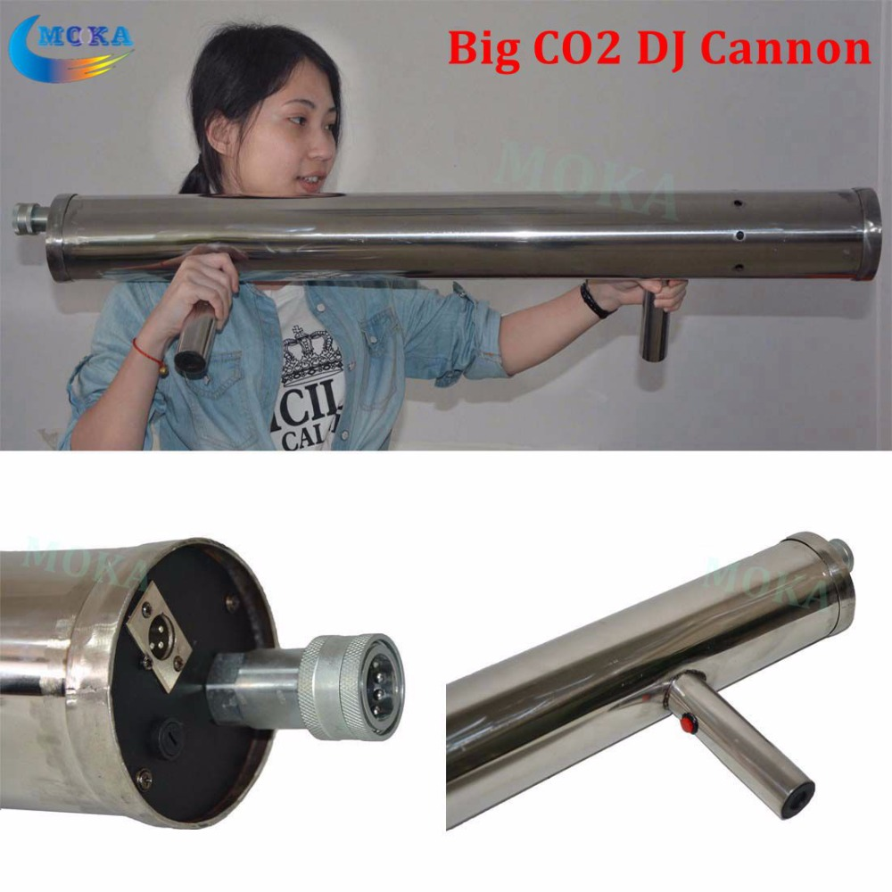 Stage light big Handhold CO2 jet dj Cannon Co2 jet Machine with 3m gas hose CO2 Cannon Machine for Stage Amazing Show