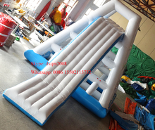 2016 giant inflatable water park,sports inflatable water floats,inflatable floating inflatable slides for sale