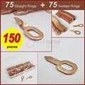 Pulling Bits Straight & Twisted Mixed 150pc STP-150