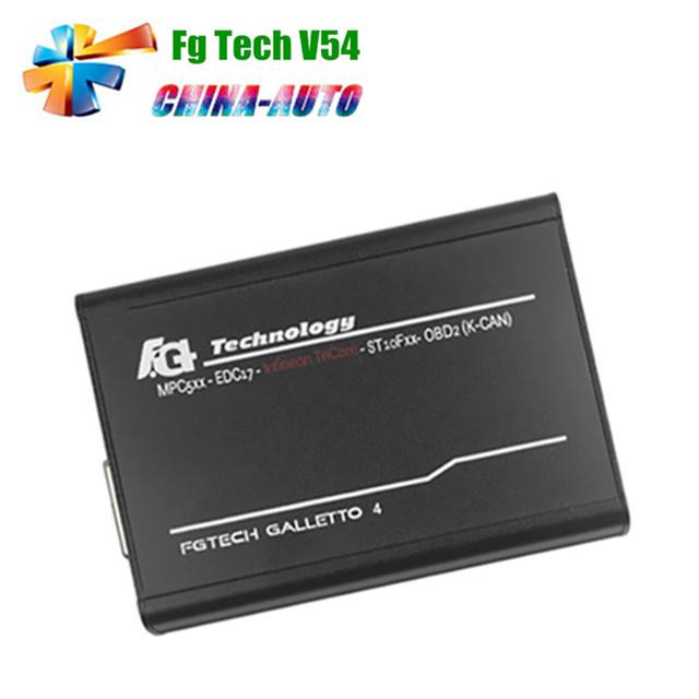 Preço de fábrica V54 FG Tecnologia Galletto 2 Master FGTech Galletto 2-Master BDM-Apoio Função BDM TriCore OBD-N ° tempo limitado