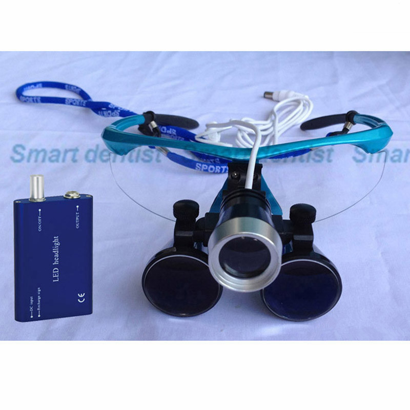2016 3.5X Medical Dental Loupes with Headlight2016 3.5X Medical Dental Loupes with Headlight