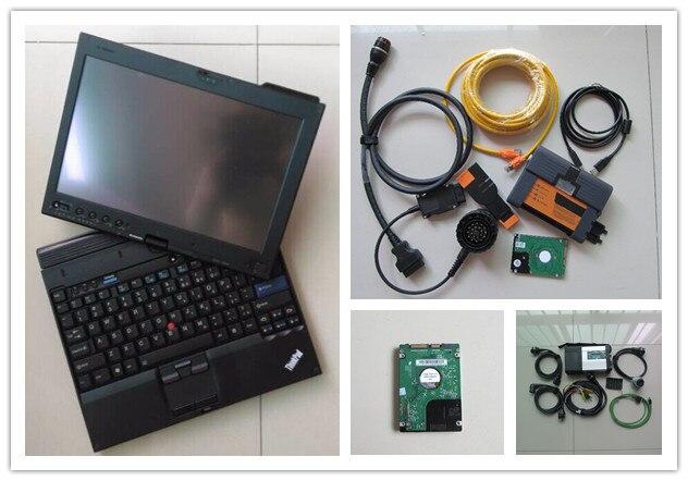 Супер звезды mb c5 для bmw icom a2 с новейшим программным обеспечением 2IN1  hdd 1 ТБ ноутбука x201t i7 4 г сенсорный экран готовая к применению полный  набор 1cba3797fd386