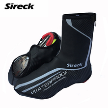 Sireck Waterproof Sport Cycling Shoe Cover Outdoor Bike Shoes Cover Windproof Full Overshoe MTB Bicycle Shoe Covers Men Women