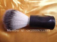 бесплатная доставка помазок 3 шт./лот борода щетка с пластмассовой ручкой и высокое качество мягкие длинные волосы