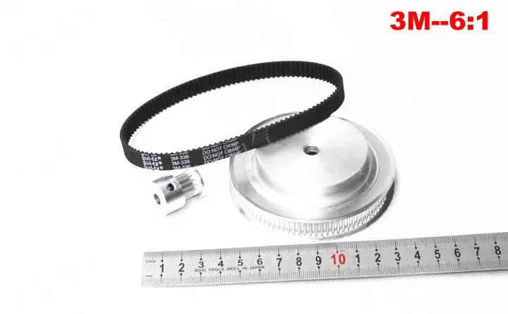 Timing belt pulleys timing belts timing belt deceleration suite 3M (6:1) CNC Engraving machine parts Synchronous pulley xl 1 4 timing belt pulleys teeth 15 60 timing belt deceleration suite xl 4 1 cnc engraving machine parts synchronous pulley