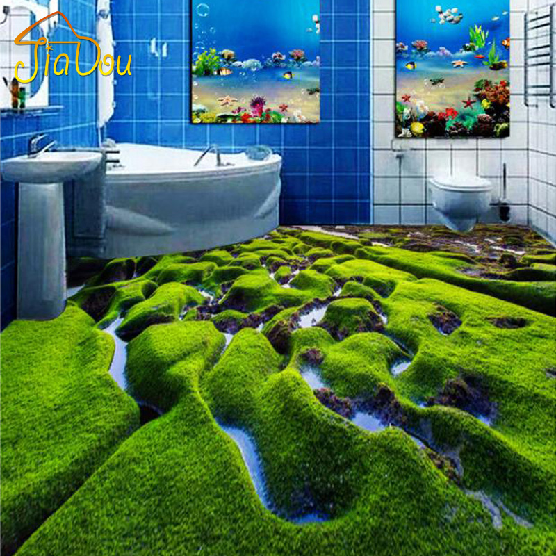 Custom Floor Mural Bathroom Bedroom Kitchen 3d Floor
