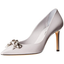White Pointed Toe Dress Shoes High Heel Women Pumps 2015 New Fashion Stiletto Heel Size 34 Shoes Slip-ons Spring Designer