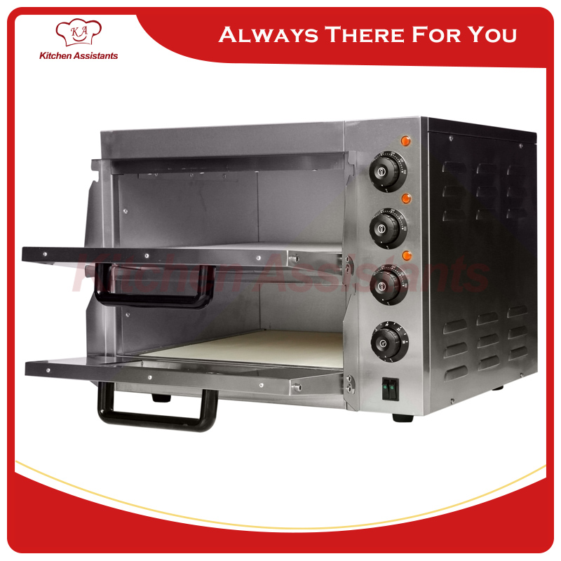 ep2st hot sale electric pizza oven with timer for commercial use for making bread cake pizza - Pizza Ovens For Sale