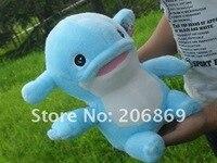 кэндис го плюшевые игрушки кукла мультфильм животных модель море синий дельфин mumuhug детские рождественский подарок на день рождения 1 шт