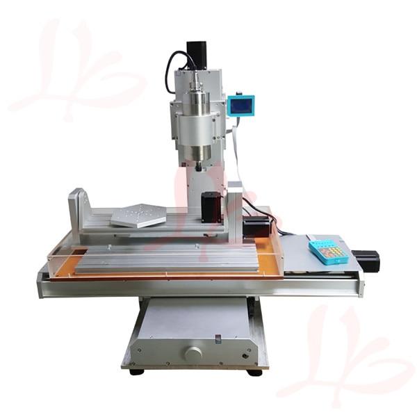 5 axes CNC routeur 6040 CNC routeur 1500 W broche + vis à billes CNC 6040 graveur machine de gravure