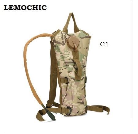 Hidrasyon askeri şişe kılıfı taktik kamp malzemeleri sırt çantası su torbası kamp camelback bisiklet mochila de Hidrasyon