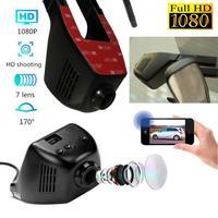 7Brend New High Quality HD 1080P Hidden Wifi Car DVR Vehicle Camera Video Recorder Dash Cam