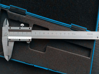 Calipers High precision Vernier caliper 0 150 mm stainless steel caliper micrometer measuring tool slide calliper rule