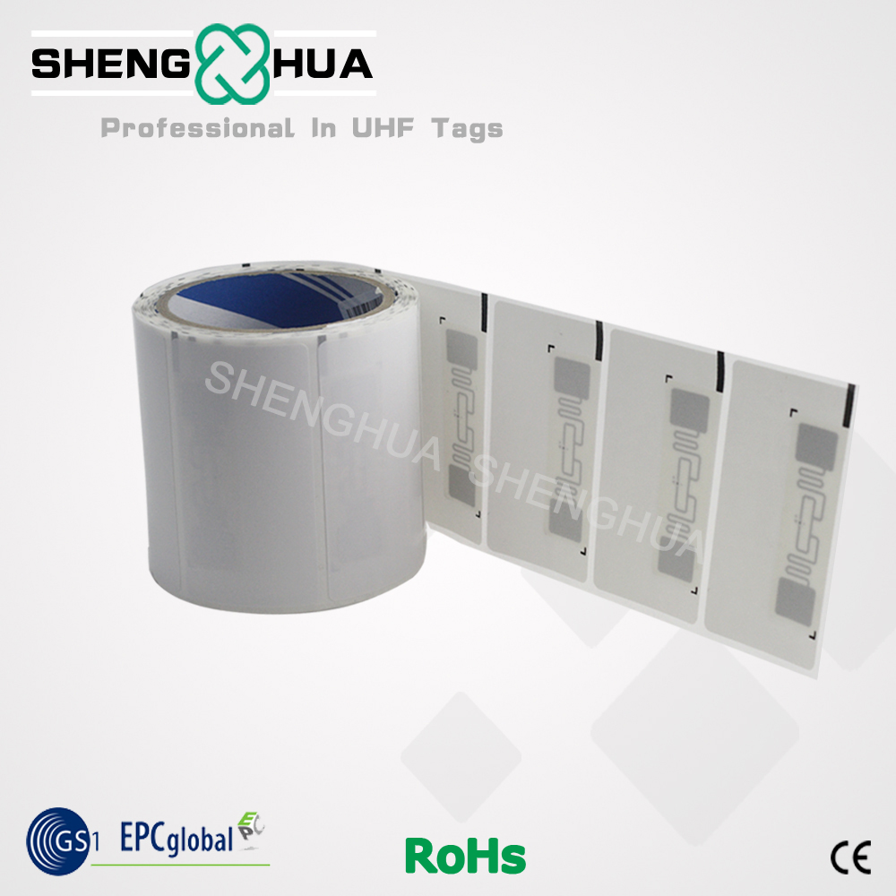 Customized Self Adhesive RFID Labels With Low Cost Price Uhf Label Sticker Big Size Long Read Range 18000-6c 915mhz