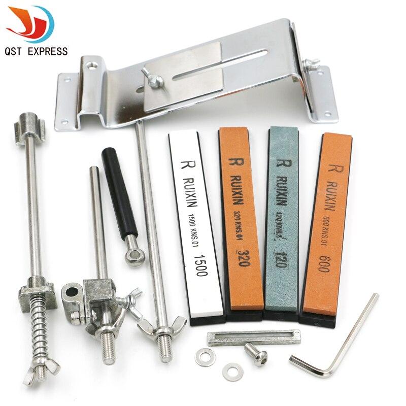 Professional Knife Diamond Sharpener Stone System with 4pcs Kitchen Sharpening Stone Whetston