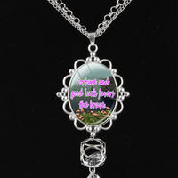 Irish Sayings Are Very Popular And Widely Used Long Tassel Necklace Irish Quotes Alphabet Charms Pendants