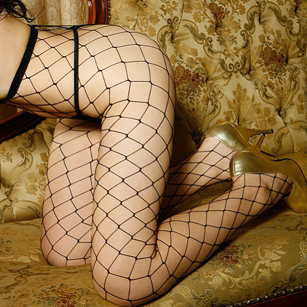 (SX002)Sexy fishnet stockings sexy temptation to large mesh pantyhose net ultra-thin stockings