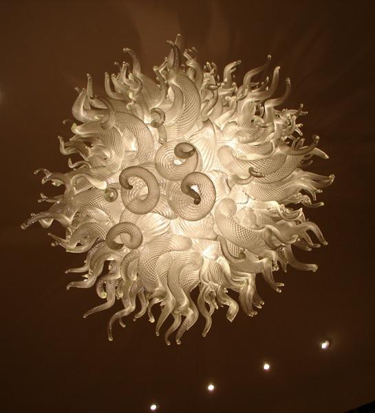 led lighting hand blown glass art murano chandelier - Blown Glass Chandelier