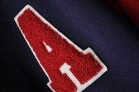 новые студенты смешанные цвета с длинным рукавом письмо ватки бейсбол одежда женщин свободного покроя спортивный верхней одежды / толстовка оптовая продажа
