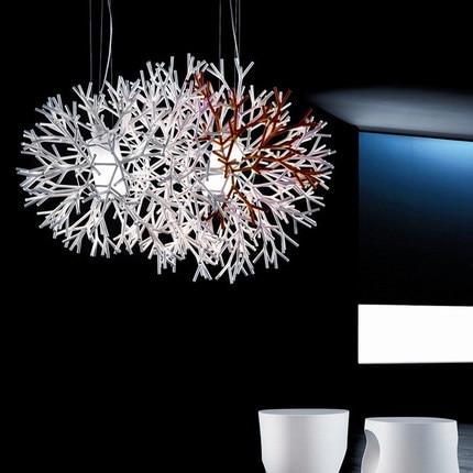North Europe Iron Pendant Lamp Fashion Coral Ball Shape Light Living Room Light Dining Room Light Free Shipping настольный светильник coral ball